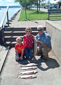 Fred & family had a great day - August 15, 2013